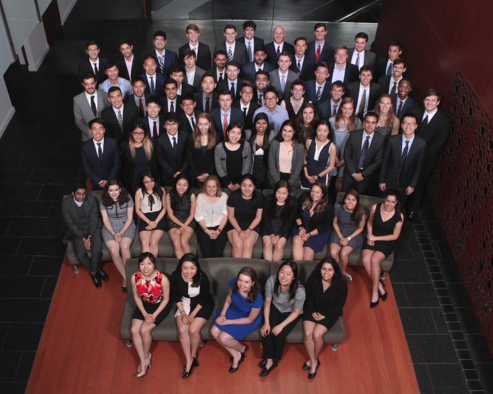 Students of ORFE Class of 2019