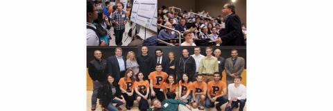 Montage of PDO Photos; Group Photo, Student Poster Presenter, Speaker