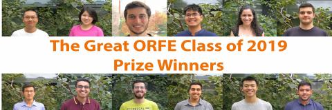 Pictures of all 12 Class Day Prize Winners.