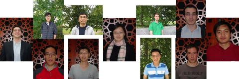 Photos of 11 students.  10 male, 1 female.